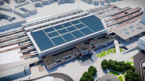 Ombouw station Gent-Sint-Pieters